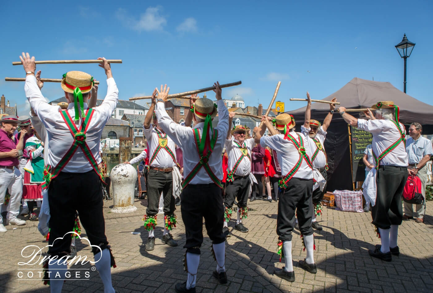 Wessex Folk Festival dancers 2018