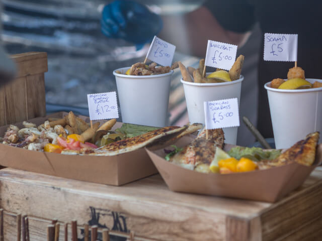 Mexican Seafood Dishes at Dorset Seafood Festival 2018