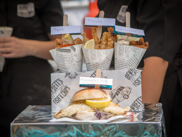 Delicious Seafood at Dorset Seafood Festival 2018