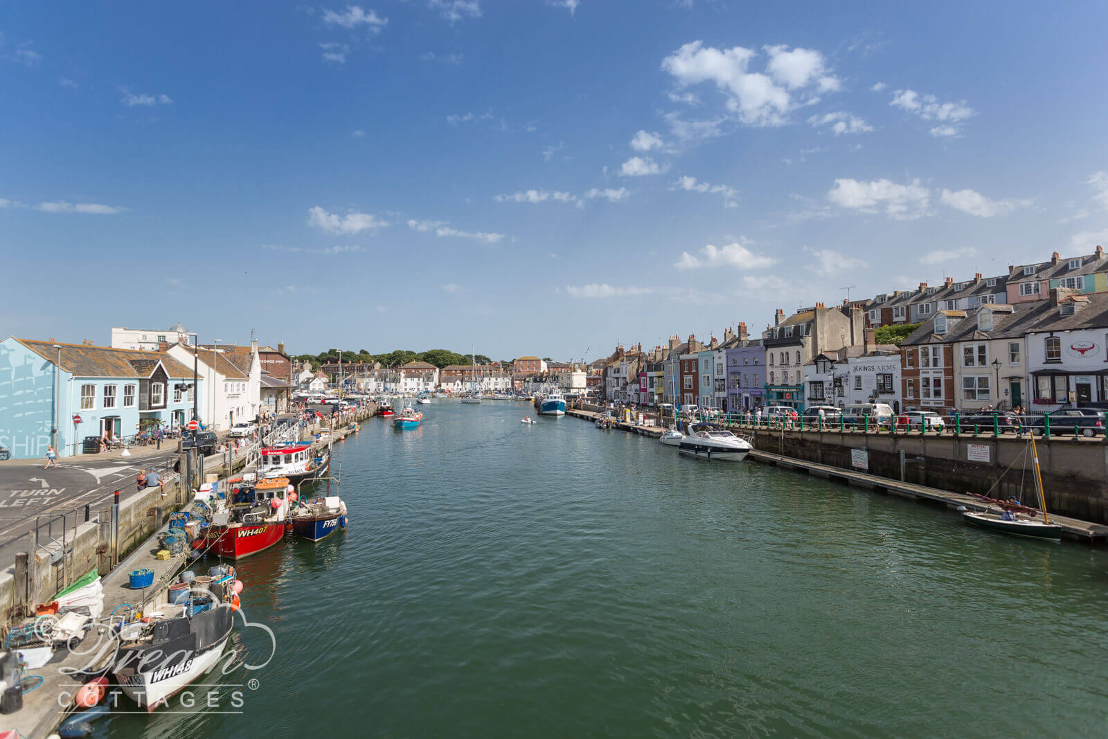 Weymouth Harbour, the perfect place for a family holiday