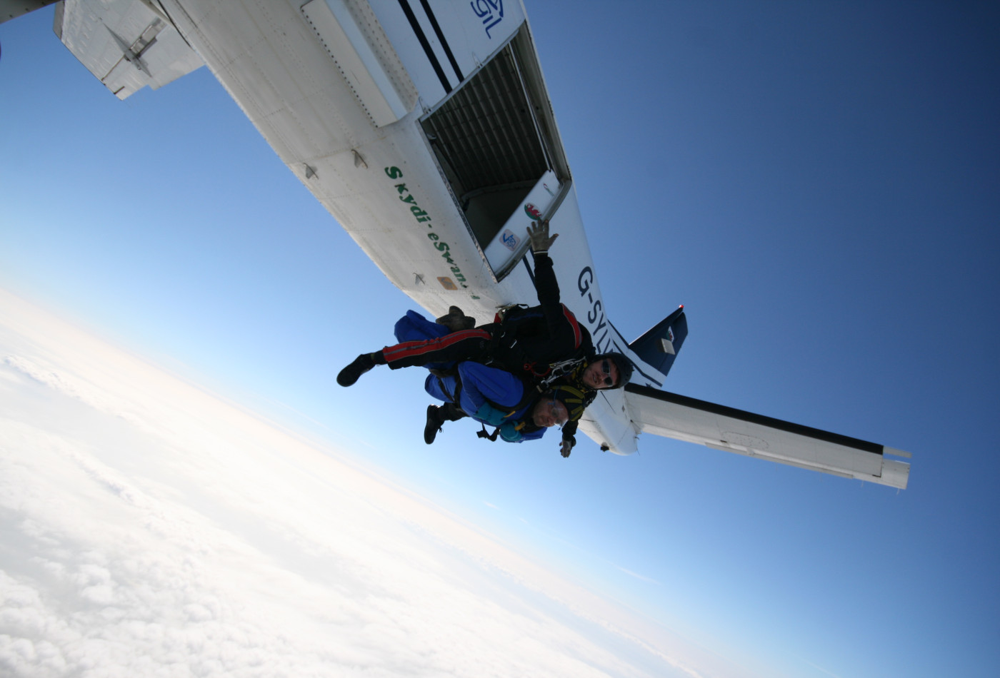 Skydiving in Dorset