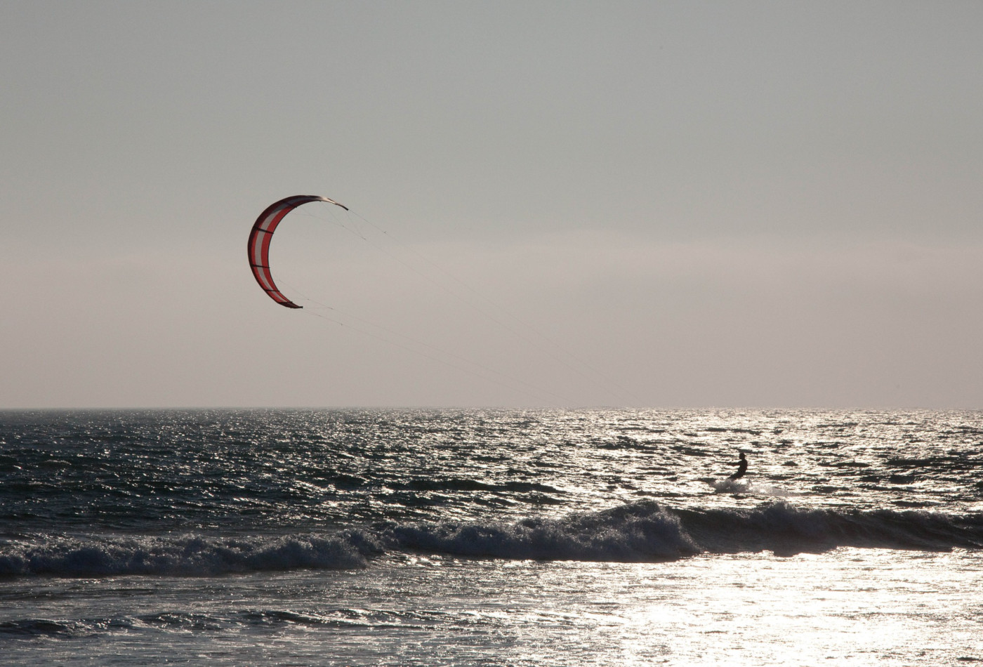 Windsurfing in Dorset