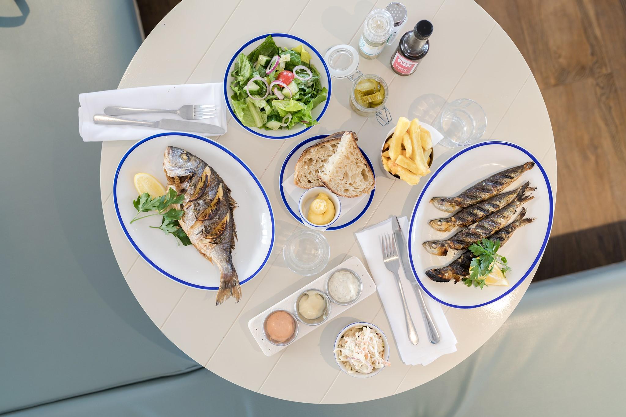Dining at Rockfish