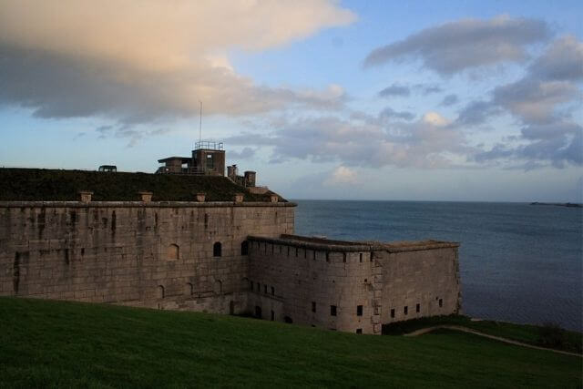 Nothe Fort, one of the many haunted places in Dorset