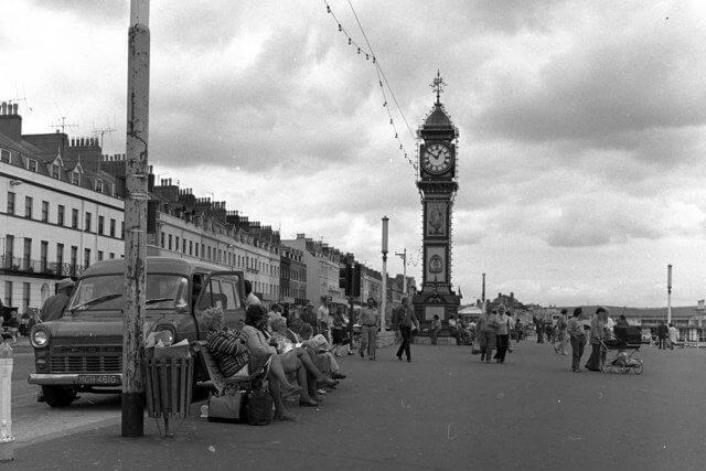 Weymouth Promenade and Jubilee Clock Tower
