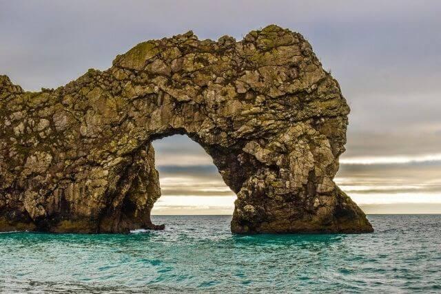 The rock formation of Durdle Door