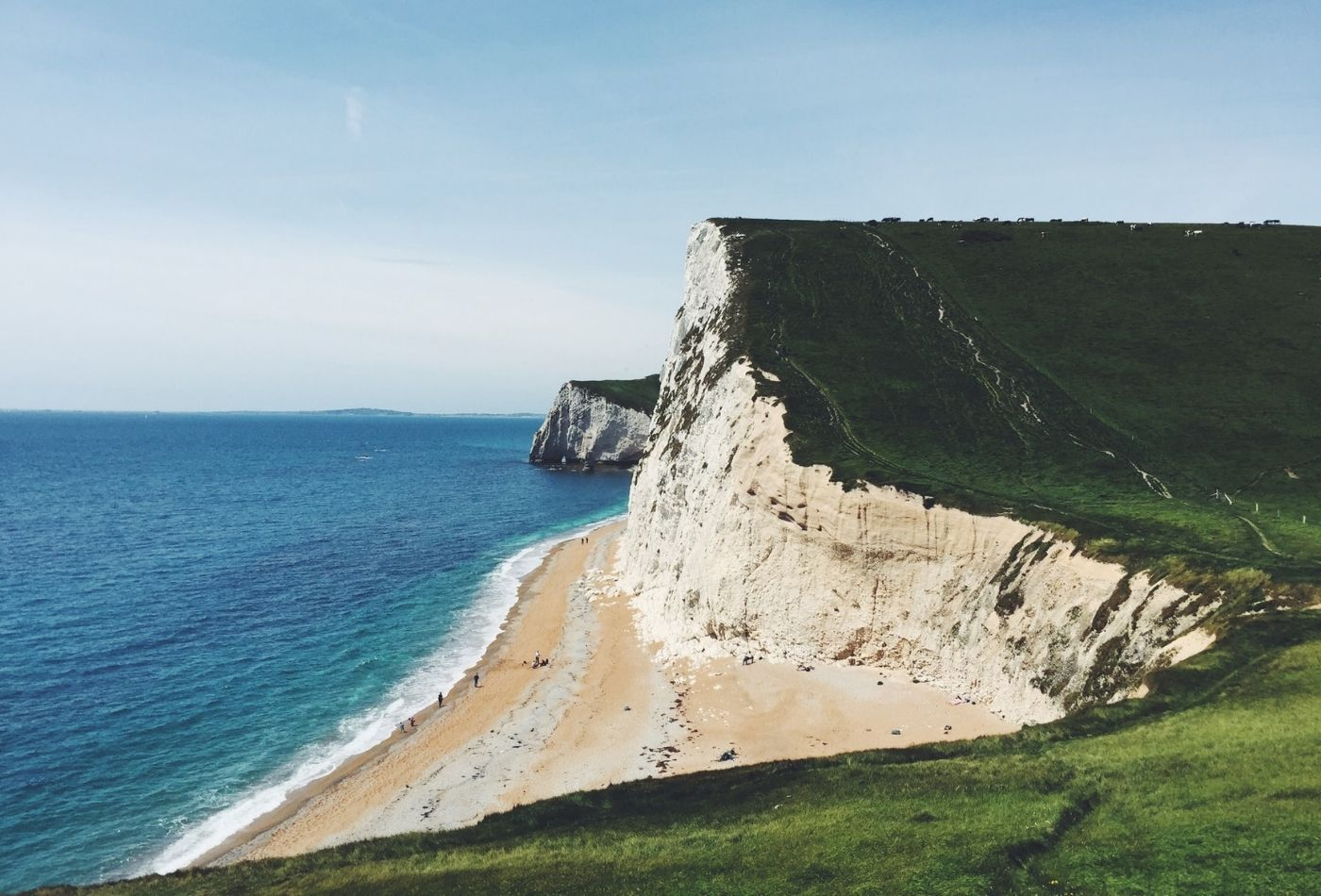 Winter Walk in Dorset along the Jurassic Coast