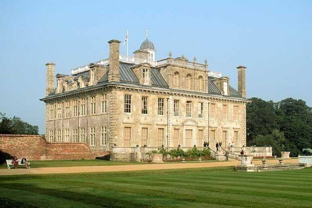 Views of Kingston Lacy manor house
